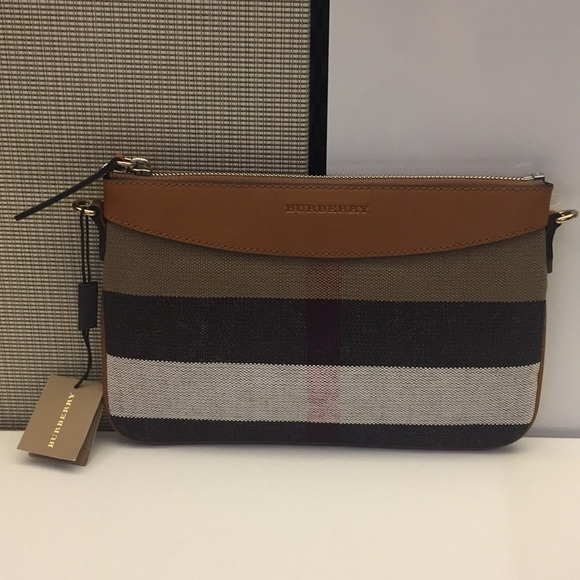 4ec283983cf4 New Burberry Peyton House Check Crossbody Bag